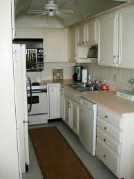 Small Galley Kitchen Kitchen Room Apartment Jolly Cream Kitchen Cabinet Made From