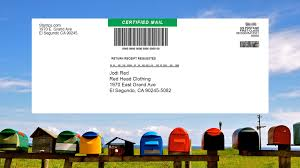 you have prepared certified mail with sts without filling out any forms by hand or going to the post office simply hand your certified mail envelope