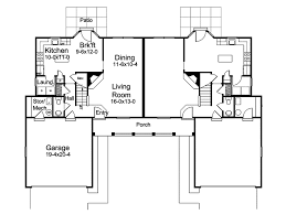 2 bedroom duplex house plans