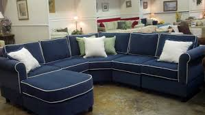 6 piece sectional with wedge corner in kid proof fabric pippa pertaining to popular household navy sectional sofa decor