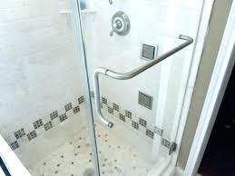 excellent glass shower door hinge pops clear acrylic towel bars handle for glass shower door that