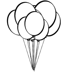 Small Picture Balloons coloring pages printable balloon coloring pages