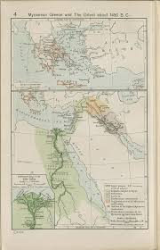 nationmaster maps of greece (35 in total) Map Cas mycenean greece and the orient about 1450 b c · reference map map case