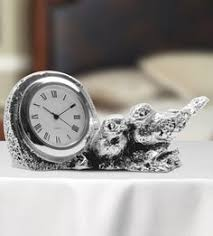 table clock with sparrows the attractive two sparrows silver clock is designed in a