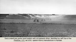 the innovators of center pivot irrigation during the s undertruss hydraulic drive system