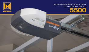 hörmann silentdrive 5500 series residential garage door opener