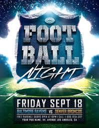 football flyer templates football night poster template download football flyer for photoshop