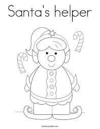 Small Picture Mrs Claus Coloring Pages Santa Claus Tree Coloring Pages