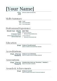Resume Sample Doc Inspiration Download Resume Sample Word Doc Document Format File Software