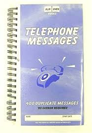 telephone message book pukka pad telephone message book 152 x 280mm 400 messages amazon