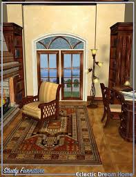 Home Study Furniture Dream Home Study Furniture Eclectic 3d Models And 3d Software
