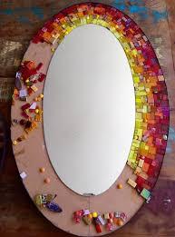 glass mosaic mirror mosaic diy