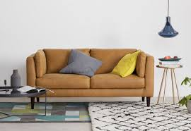 10 best contemporary leather sofas for small spaces colourful beautiful things