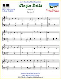 Jingle Bells Piano Sheet Music Free Printable Pdf