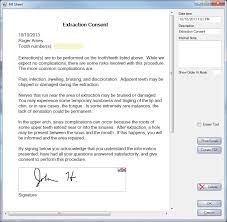 Open Dental Software Consent Form
