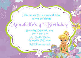 colors tinkerbell birthday invitations tinkerbell birthday invitations