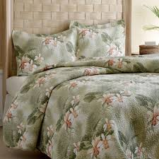 Tommy Bahama Tropical Orchid 3-piece Quilt Set - Free Shipping ... & Tommy Bahama Tropical Orchid 3-piece Quilt Set Adamdwight.com