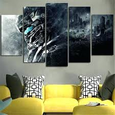 wall art and decor home decor wall art decoration canvas prints halo 5 guardians