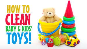how to clean baby kids toys