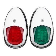 Red Side Light On Boat 10v 30v Led Side Signal Lamp Navigation Lights For Truck Boat Trailer Van Red Green