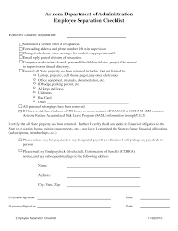 Ideas For Employee Separation Notice Template About Template Sample