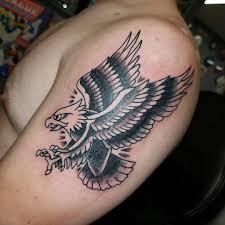 At Classic13tattoo Classic 13 Tattoo Awesome Eagle Tattoo By