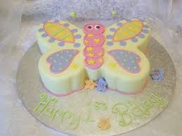 Butterfly 1st Birthday Cakecentralcom