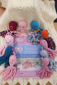 Crochet Octopus For Premature Babies Pattern Fascinating Appeal Launched For Crocheted Octopuses To Comfort Premature Tots At
