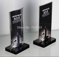 table display stands. black base acrylic magnetic desktop table display stand price tag holder sign menu photo frame10pcs-in frame from home \u0026 garden on aliexpress.com stands o