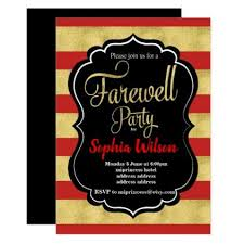 Gold Farewell Party Invite Pinterest Inspiration Of Goodbye Party Delectable Farewell Pinterest