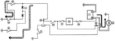 2002 yamaha bulldog bt1100 starting circuit and wiring diagram yamaha bt1100 starting circuit