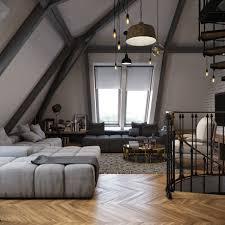 Slanted Roof Bedroom Slant Roof Ceiling Interior Design Ideas Cubtab