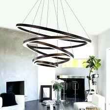 chandelier lights for small living room modern led lighting re ring chandeliers lamps home mode