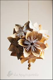 Paper Flower Balls To Hang From Ceiling Tutorial For Origami Kusudama Paper Flower Ball Paper