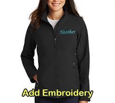 Sanmar Ladies Jacket Port Authority Black
