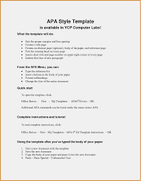 018 Apa Style Reference Page Template Ideas Paper Format