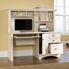 white desk with hutch. Computer Desk With Hutch White