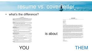 Resume Vs Cover Letter 13 4. Vs.