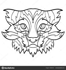 Bobcat тату рысь векторное изображение Shesaysboo 196661394