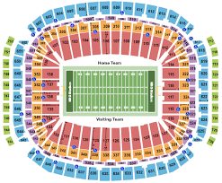 Doak Stadium Seating Chart Credible Lambeau Field Seating Chart Section 131 Houston