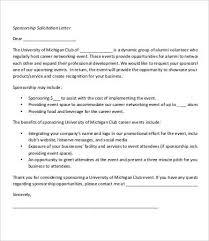 Solicitation Letter Solicitation Letter Template 7 Free Pdf Format Download Free