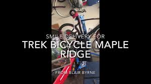 Bike Mechanic T-Rex - Smile Delivery for Trek Bicycle Maple Ridge - YouTube