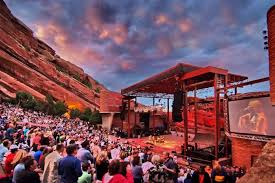 Red Rocks Amphitheatre Seating Chart All Reserved Accessibility Red Rocks Entertainment Concerts