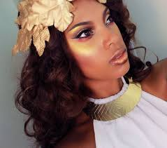 Goddess Hair Style greek golden goddess makeup & hair tutorial youtube 1442 by stevesalt.us