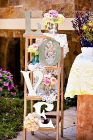 50 unique rustic fall wedding ideas ladder decoration