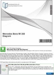 A3d3f 2007 Ml320 Cdi Fuse Diagram Digital Resources