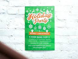 Holiday Flyer Template Word Holiday Party Flyer Template Free Holiday Party Flyer Poster