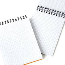Spiral Bound Graph Paper Customized Hardcover Leather Notebook