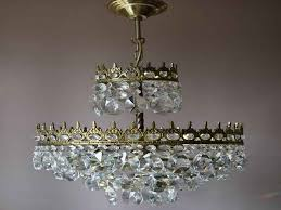 pin by melinda jones on doll house miniatures diy from vintage crystal chandeliers