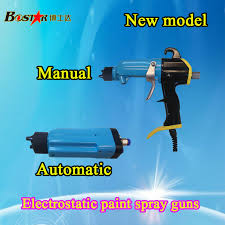 highly acclaimed built in high voltage generator liquid electrostatic paint spraying machine